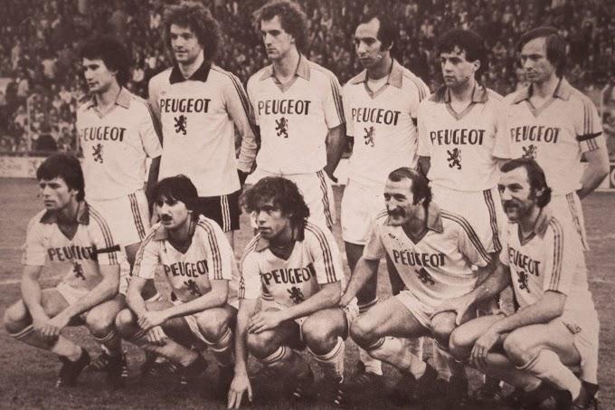 F.C SOCHAUX-MONTBELIARD 1979-80. By panini.