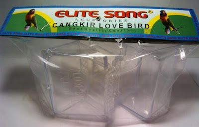 Harga Tempat Pakan/Minum Burung Merk Elite Song Paling Baru Dan Terlengkap Saat Ini
