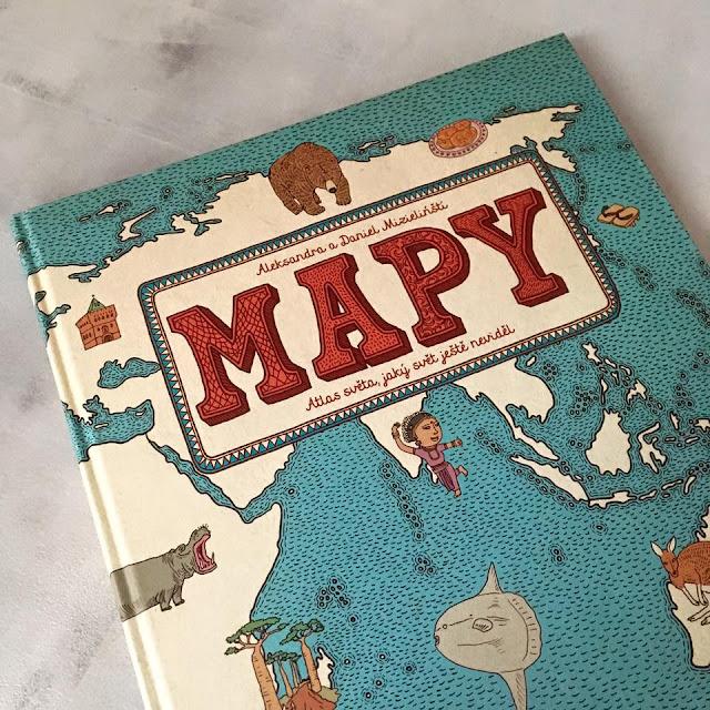 soutěž o knihu Mapy