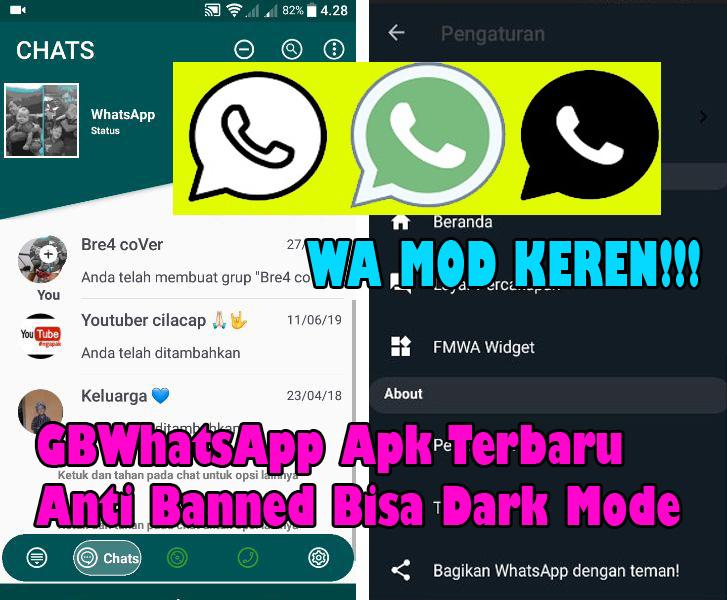 Download GBWhatsapp Apk Terbaru V10.23 Anti Banned