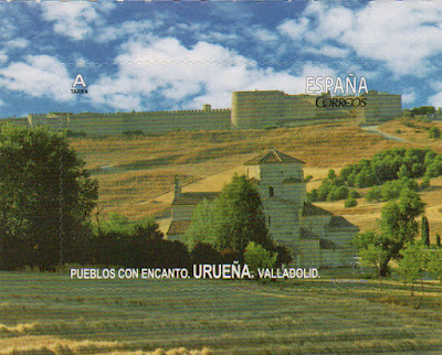 sello, filatelia, Urueña, Valladolid