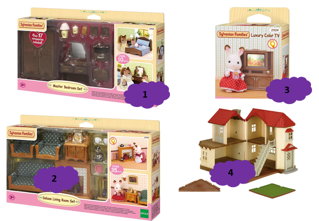 Wishlist no l 2016 2 ans et demi for Sylvanian chambre parents