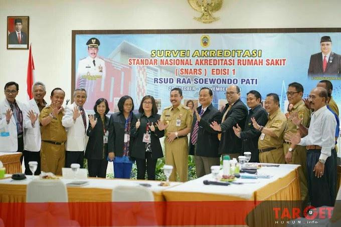 Bupati Haryanto Dukung Akreditasi RSUD RAA Soewondo