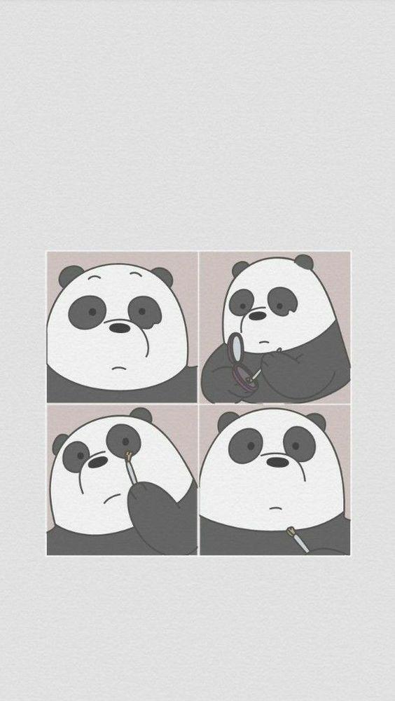 Panda We Bare Bears Wallpaper