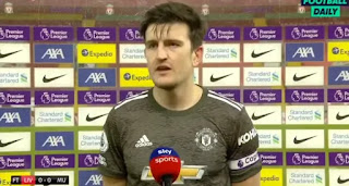Maguire shares his thoughts on cagey Liverpool clash
