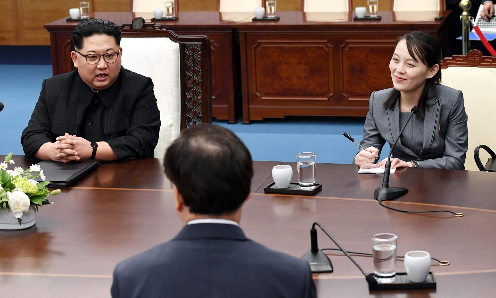 Kim Yo-jong , Kim Jong Un