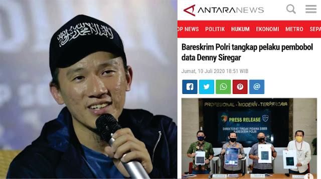 Ustadz Felix Siauw: soal Penangkapan Pembobol data Denny Siregar