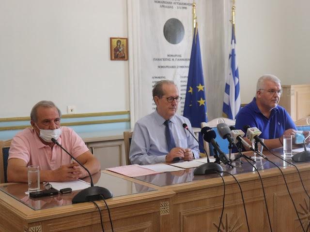 Περιφέρεια Πελοποννήσου: Ανέλαβε καθήκοντα ο περιφερειακός συντονιστής Πολιτικής Προστασίας