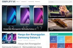 Download Template Simplify 2 V4 Gratis (PREMIUM) Terbaru