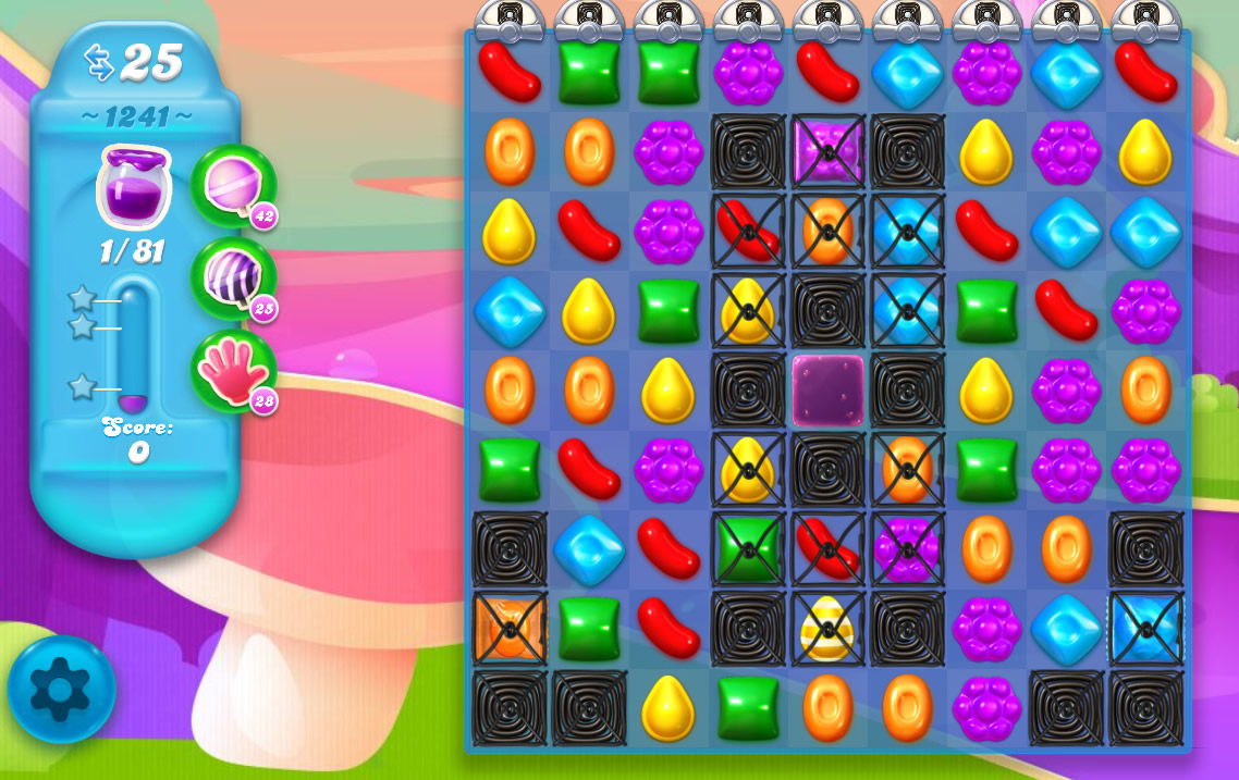 Candy Crush Soda Saga level 1241