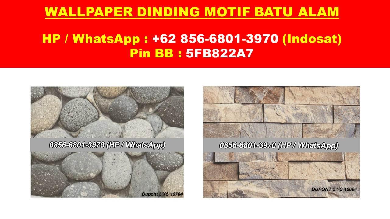 0856 6801 3970 Isat Jual Wallpaper Dinding Motif Sticker Batu Bata