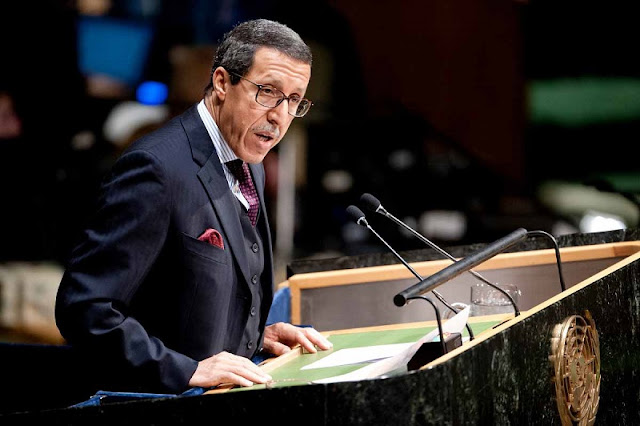 هلال: المغرب فخور بكونه كان وراء إصدار وثائق أممية ودولية ذات أهمية قصوى