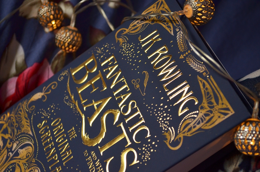 fantastic beasts and where to find them original screenplay book