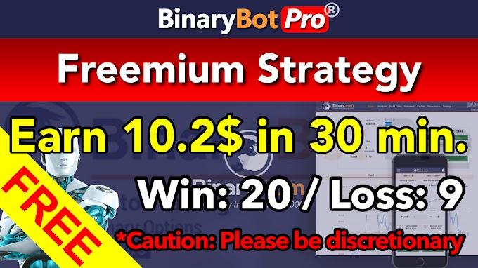 Freemium Strategy | Binary Bot | Free Download