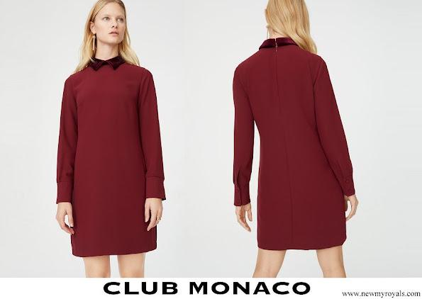 Meghan Markle wore Club Monaco Sallyet dress