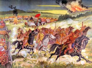 Ricerca sull'origine degli Unni, il popolo di Attila