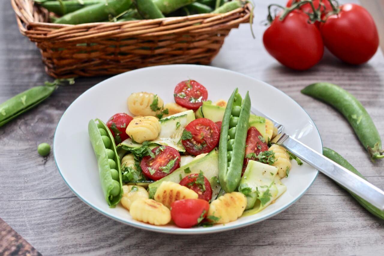 Rezept Gnocchisalat mit Gemüse