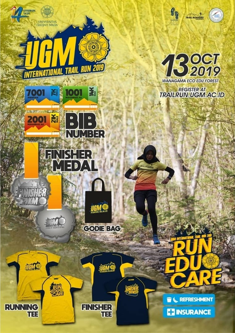 UGM International Trail Run • 2019