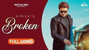 BROKEN SONG LYRICS NINJA | GOLDBOY