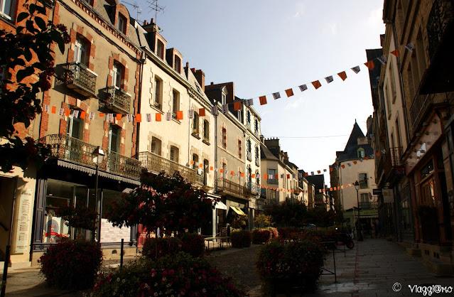 Il centro storico del borgo medievale di Vitré