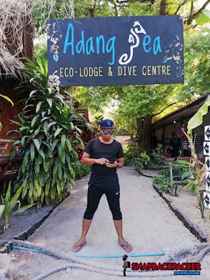 Adang Sea Eco Lodge Entrance