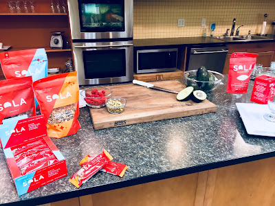 TV Segment Prep with Sola Sweet Foods and Sweetener