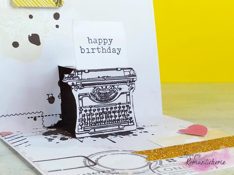 DIY Typewriter Pop-Up Card – video tutorial