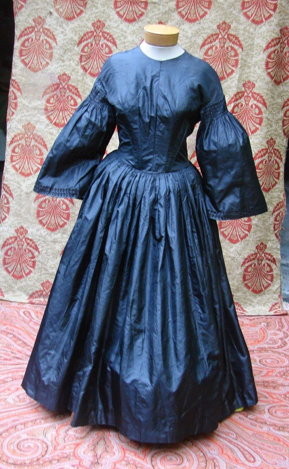 All The Pretty Dresses 1850 S Dress Redone In The 1860 S