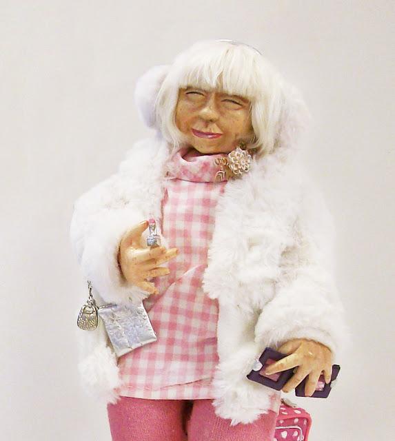 "Екатерина Барац (Самара) ""Бабулечка Розалиночка"" Выставка авторской куклы в Самаре ""Куклы. Эмоции. Чувства."""