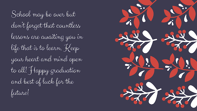 graduation message from parents