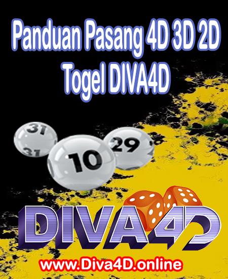 Panduan Pasang 4D 3D 2D Togel DIVA4D Togel Online | Situs Togel Online | Bandar Togel