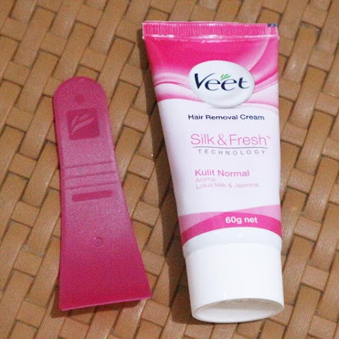 [REVIEW] VEET: Hair Removal Cream