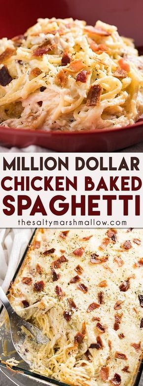 Million Dollar Chicken Spaghetti