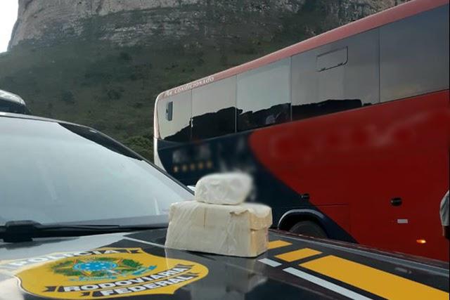 PRF apreende cocaína avaliada em R$ 300 mil na Chapada Diamantina