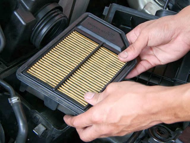 Mengganti filter udara secara rutin