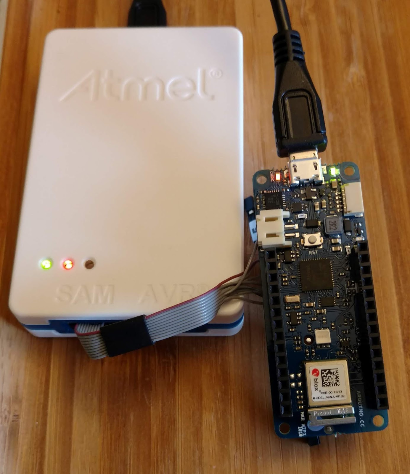 GoJimmyPi: SWD Debugging the Arduino MKR-WiFi-1010 with Atmel ICE