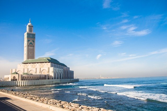 See the Hassan II Mosque