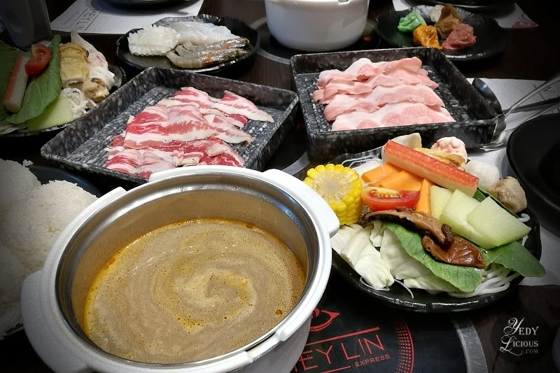 Mey Lin Express Restaurant Shabu-Shabu Hot Pot Bento Blog Review YedyLicious Manila Food Blog by Yedy Calaguas, Mey Lin Express Shabu-Shabu SM Light Mall Mandaluyong City, Mey Lin Express Bistro by Vikings Group of Restaurant, Affordable Hot Pot Restaurant In Manila Philippines, Mey Lin Express Restaurant Address Contact No Menu Branches Price Promo Facebook Twitter Instagram Top Best Food Blog Manila Philippines Yedy Calaguas Food Staylist Food Photographer