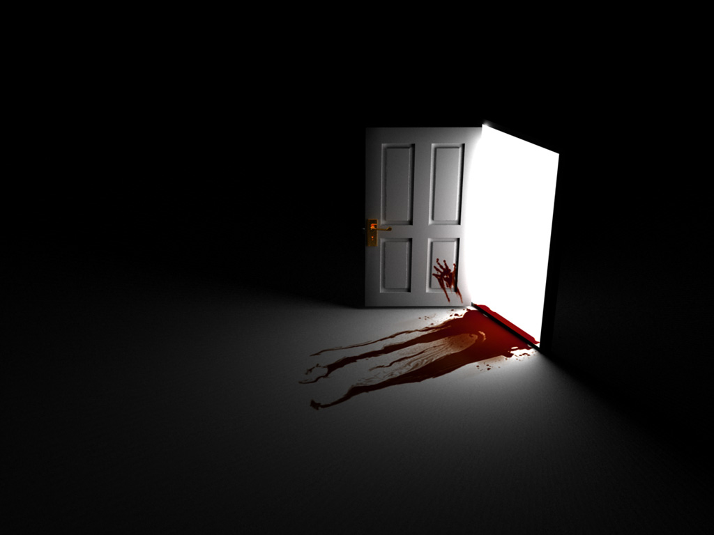 Dark Blood Wallpaper Dark Blood Door Scary Wallpaper Scary Wallpaper Backgrounds