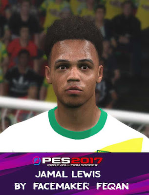 Jamal Lewis Face Pes 2017 by Feqan