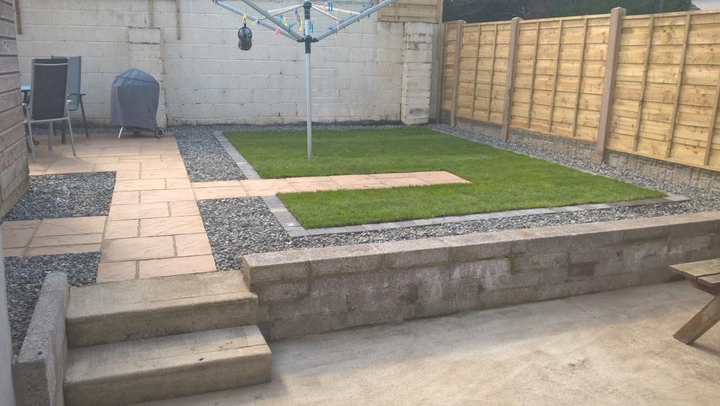 Greenart landscapes garden design construction and for Garden redesign