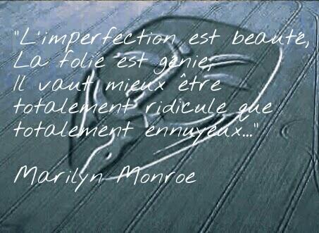 citaiton-imperfection-marilyn-monroe
