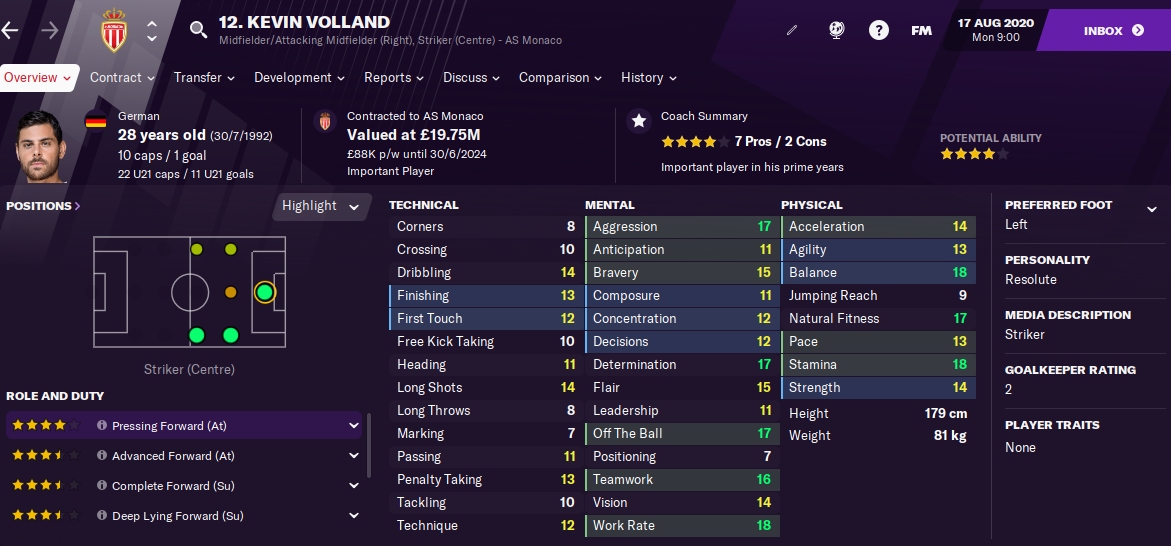 FM21 Kevin Volland