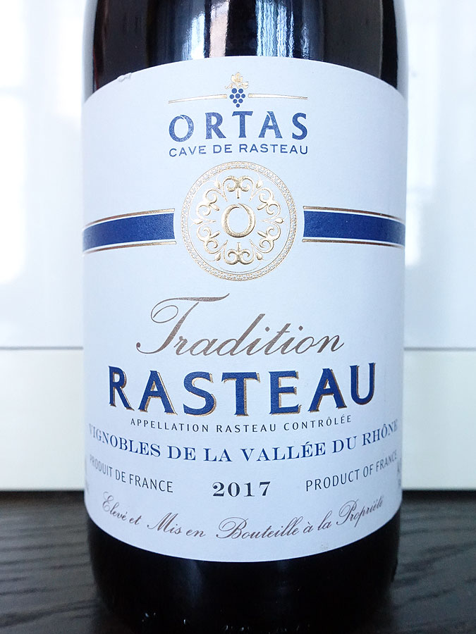 Ortas Tradition Rasteau 2017 (88 pts)
