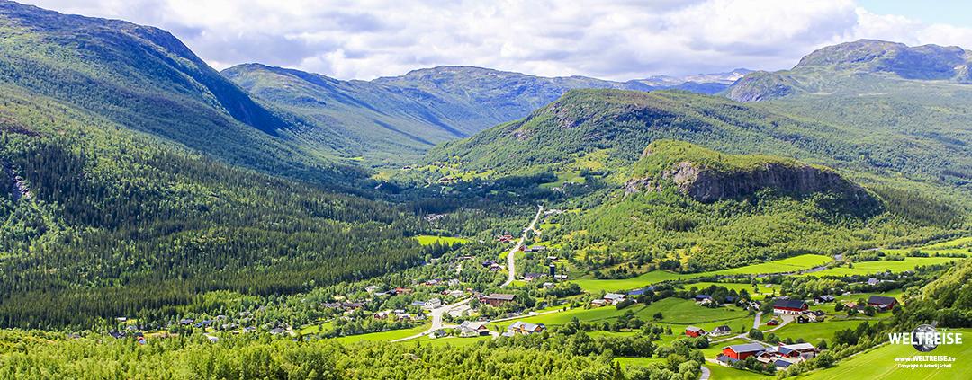 Panorama Hemsedal, Norway www.WELTREISE.tv