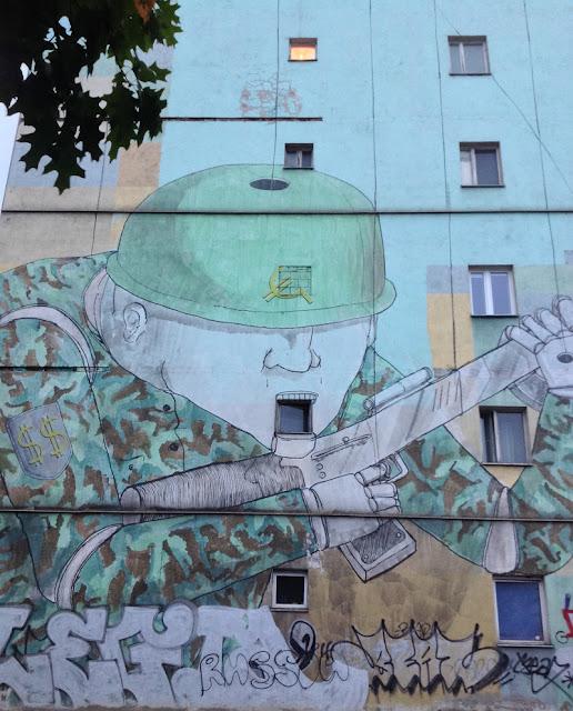 blu, War Mural, Warsaw, Warszawa, Warschau, streetart