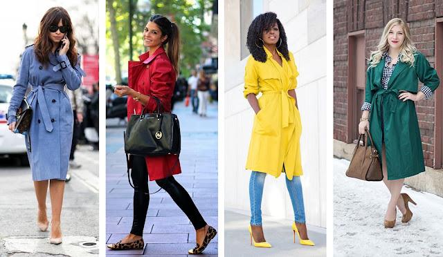 Consultoria de imagem - style it - trench-coat coloridas