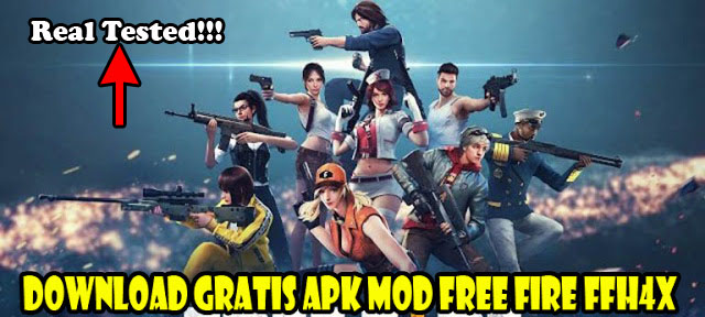 download ffh4x apk mod auto headshot free fire terbaru 2021, cracked, garena free fire,