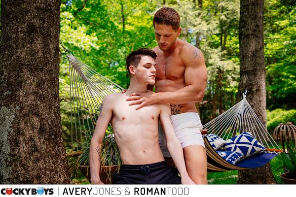 #CockyBoys presents Avery Jones & Roman Todd in some steamy summer fun