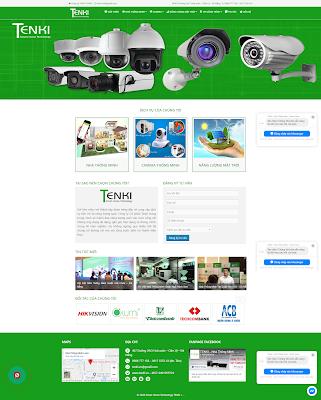 Website điện máy
